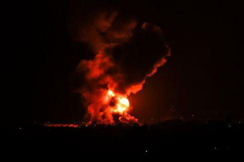Israel Serang 130 Sasaran Militer dan Bunuh 15 Mata-mata Militan di Gaza