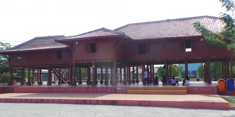 Rumah si Pitung di Marunda, Cilincing, Jakarta Utara.