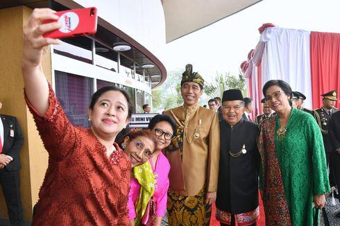Berikan Pidato Kenegaraan, Presiden Jokowi Kenakan Pakaian Adat Sasak