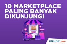 INFOGRAFIK: 10 Marketplace Paling Banyak Dikunjungi