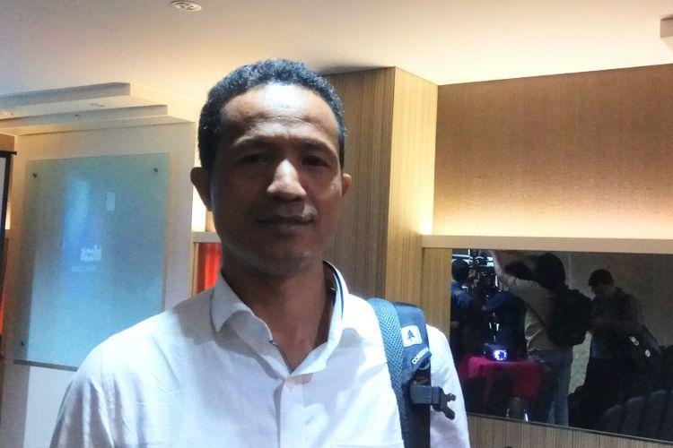 Peneliti Forum Masyarakat Peduli Parlemen Indonesia (Formappi) Lucius Karus Ketika Ditemui di Jakarta, Senin (14/8/2017).