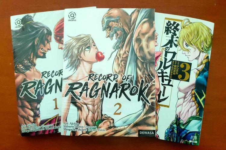 Komik Record of Ragnarok atau Shuumatsu no Walkure berhasil terjual sebanyak 4,3 juta eksemplar dan telah dikonfirmasi akan diadaptasi menjadi anime pada tahun 2021. Penerbit M&C menerbitkan komik ini di lini Akasha, lini khusus komik dewasa, karena temanya yang cukup sensitif dan penggambaran adegan bertarung yang dahsyat.