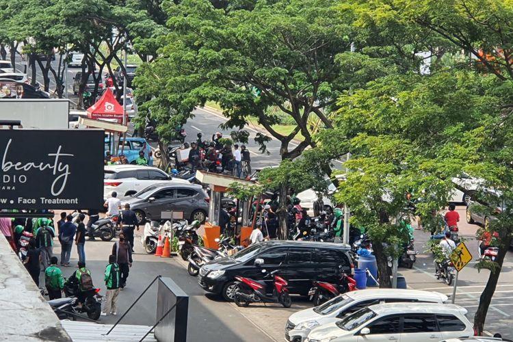 Keributan diduga dengan senjata api terjadi di Green Lake City Kota Tangerang, Minggu (21/6/2020)