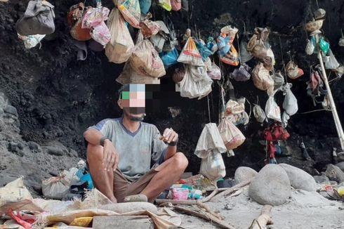 Kisah Pria Gangguan Jiwa di Manggarai Timur, Lima Tahun Tinggal di Tebing Gua Penuh Sampah