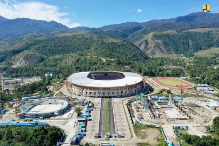 Progres pembangunan venue PON XX Papua