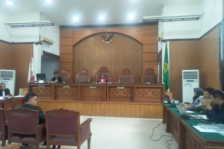 Sidang Praperadilan Nurhadi Cs Agenda Mendengarkan Keterangan Ahli dari Pihak KPK di PN Jakarta Selatan, Kamis (16/1/2020)