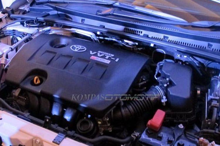 Mesin 2ZR-FE, 4-silinder, 16 Valve, DOHC, Dual VVT-i, 1.798 cc, menawarkan tenaga 151 PS dengan torsi 19.4 kg.m.