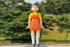 Boneka Squid Game Muncul di Seoul Korea Selatan, Jadi Daya Tarik Wisatawan