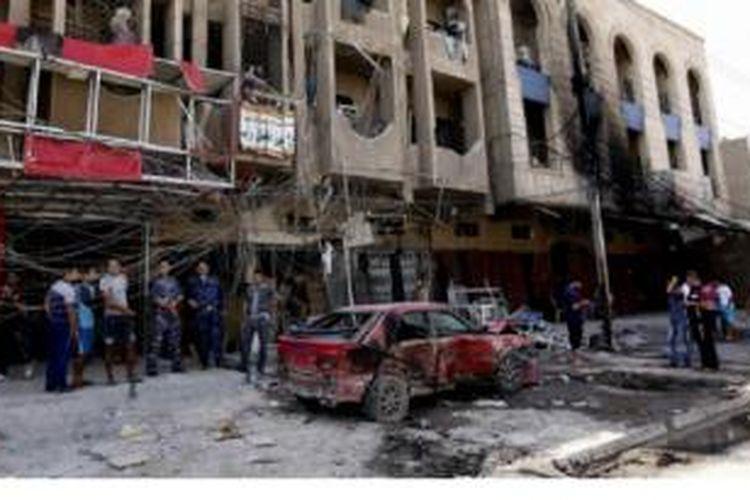 Kekerasan di Irak marak di tengah-tengah ketegangan umat Sunni dan Syiah.
