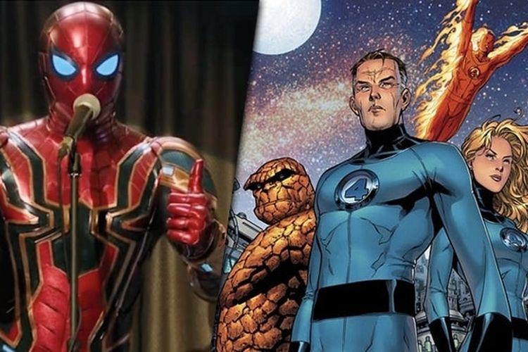 Spider-Man dan Fantastic Four.