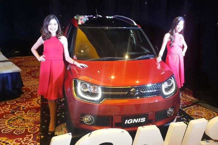 Suzuki meluncurkan Ignis, city car terbaru di Indonesia, Senin (17/4/2017).