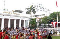Jadi Inspektur Upacara Hari Lahir Pancasila, Jokowi Kenakan Busana Jawa