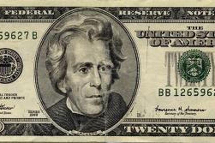 Uang Kertas 20 Dollar As Paling Sering Dipalsukan