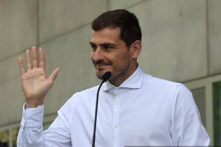Iker Casillas memberikan saran terkait peningkatan sistem penggunaan Video Assistant Referee (VAR)