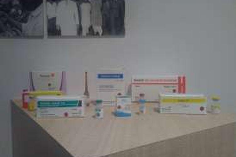 Berbagai macam vaksin buatan PT Bio Farma