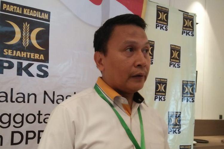Ketua DPP Partai Keadilan Sejahtera (PKS) Mardani Ali Sera di Hotel Mercure Jakarta Batavia, Jakarta Barat, Senin (5/8/2019).