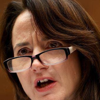 Avril Haines dalam kesaksiannya di depan Komite Urusan Luar Negeri DPR AS pada 13 Januari 2020.