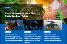[POPULER SAINS] Catatan Karang tentang Perubahan Iklim Indonesia | Ada Cincin Raksasa di Sekitar Lubang Hitam
