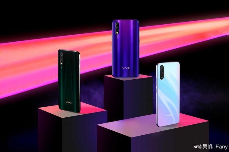 Bocoran tampang smartphone Vivo Z5