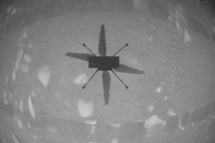 Helikopter NASA sukses catatkan penerbangan bersejarah pertama di Mars