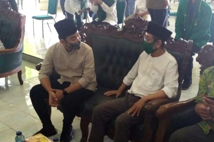 GibranRakabuming Raka di Kantor DPW PPP Jateng, Jumat (28/8/2020).