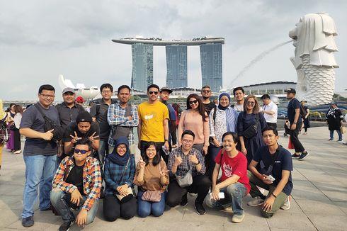 Pemenang TechTrip Kompas.com x Vivo Jalan-jalan ke Singapura