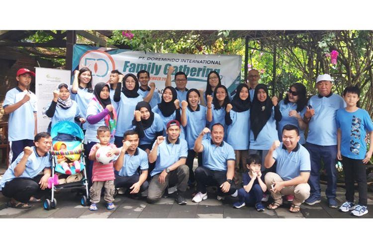 Family Gathering tim Doremindo Agency beserta keluarga. (Doremindo)