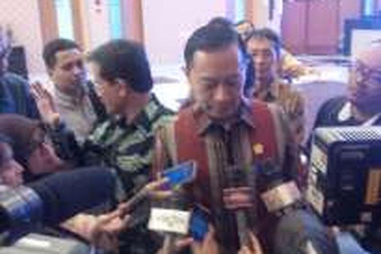 Kepala Badan Koordinasi Penanaman Modal (BKPM) Thomas Lembong, di Kantor BKPM, Jakarta, (8/8/2016)