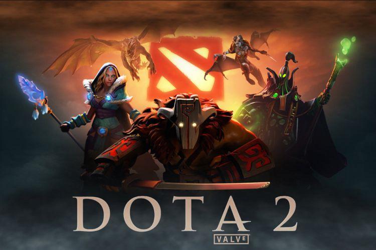 Ilustrasi game Dota 2.