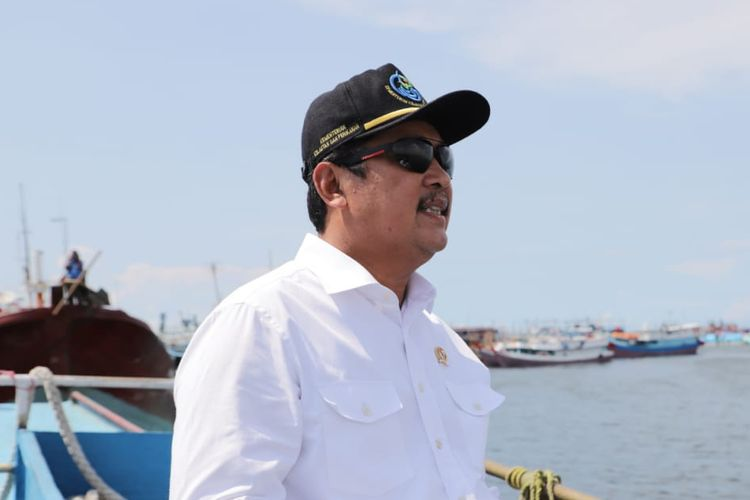 Minister of Maritime Affairs and Fisheries Sakti Wahyu Trenggono.