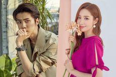 Sehun EXO Kirim Truk, Park Min Young Terkejut