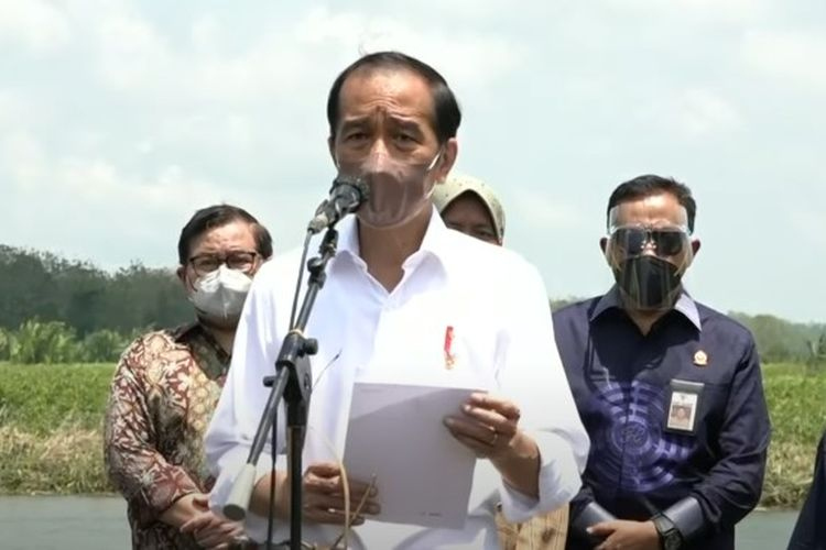 Presiden Jokowi menargetkan penanaman mangrove sekitar 34.000 hektar pada 2021