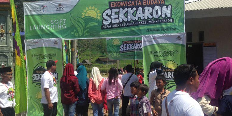 Desa Wisata di Sepakung, Kecamatan Banyubiru, Kabupaten Semarang, Jawa Tengah, Minggu (13/5/2018).