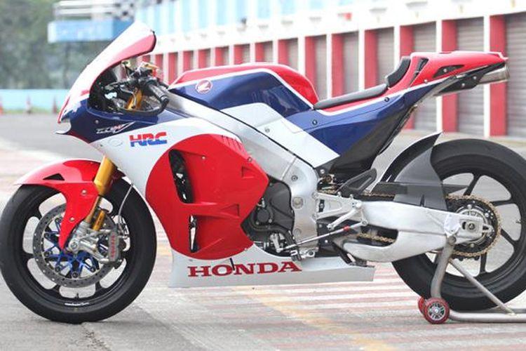 Honda RC213V-S di Sentul, Bogor, Indonesia.