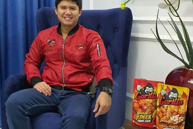 Prayogo Pangestu Quddus Pemilik Brand Gorilla Food.