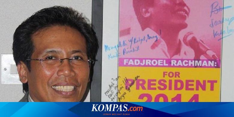Fadjroel Rachman, Aktivis 98 dan Capres, Kini Jubi