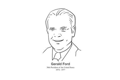 Hari Ini dalam Sejarah: Gerald Ford Gantikan Nixon sebagai Presiden AS dan Akhir Skandal Watergate...