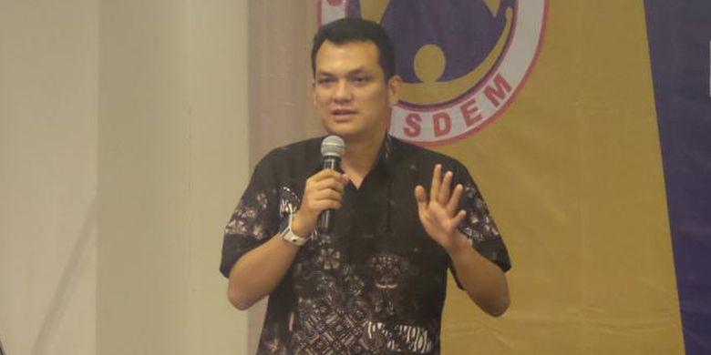Nasdem Party legislator Martin Manurung