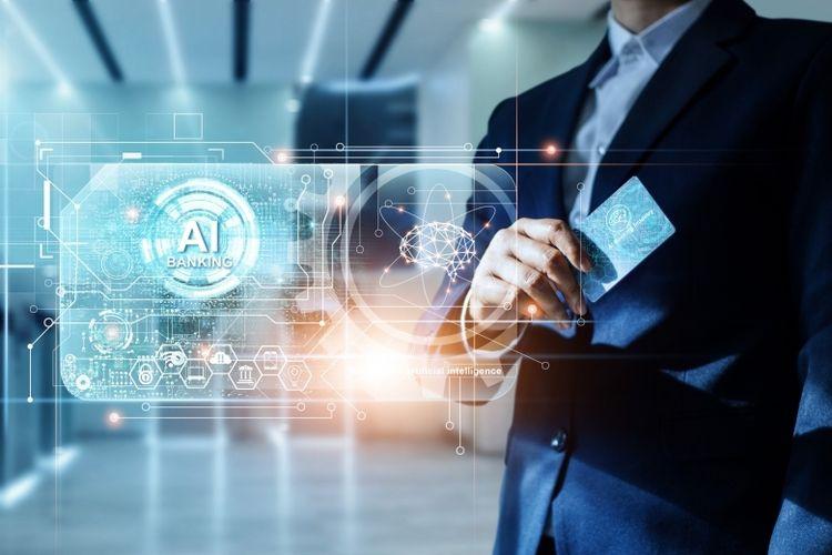 Ilustrasi penerapan artificial intelligence (AI) dalam dunia perbankan
