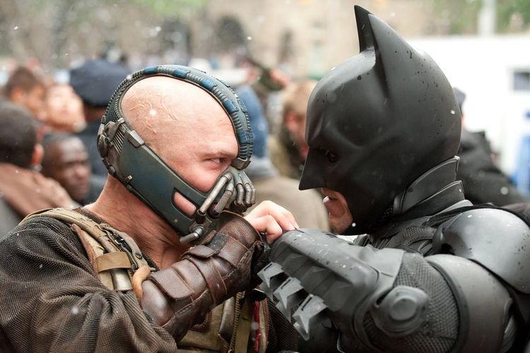 Cuplikan film The Dark Knight Rises