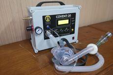 Ventilator COVENT-20 Buatan UI Lulus Uji Klinis Manusia, Diuji di Beberapa RS