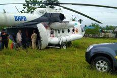 Akibat Cuaca Buruk, Helikopter Tujuan Mimika Mendarat Darurat di Lapangan Bola di Jayapura