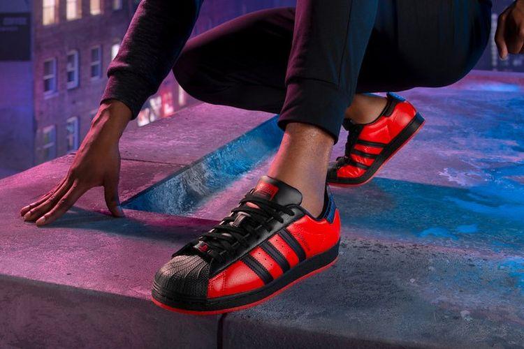 Adidas Superstar x Spider-Man Miles Morales