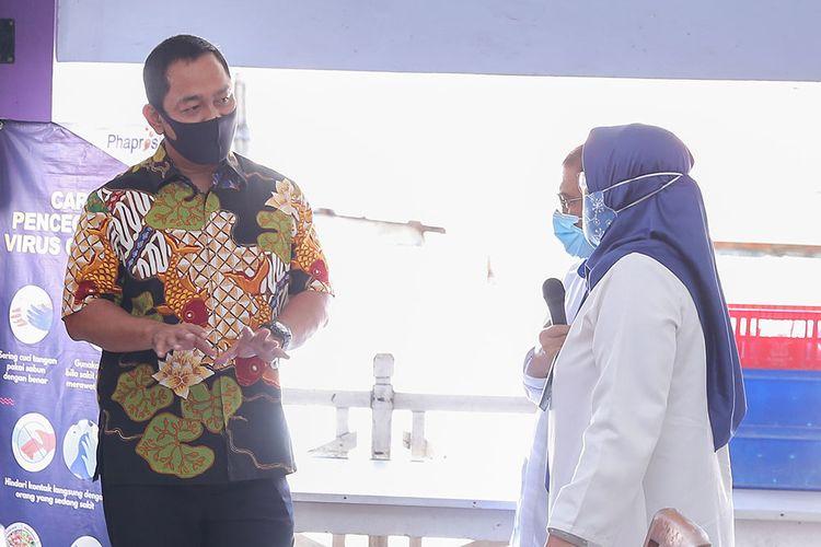 Hari Pertama PKM di Kota Semarang, Hendi Hentikan Kendaraan Plat Nomor Luar Kota