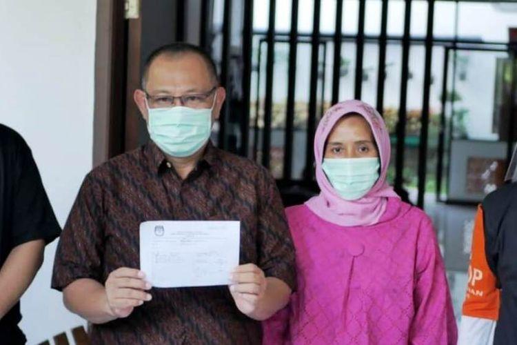 Pelaksana Tugas Wali Kota Medan Akhyar Nasution usai menerima kedatangan PPDP di rumahnya, Sabtu (18/7/2020)