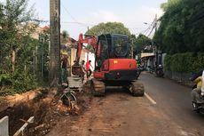 Antisipasi Genangan, Sudin SDA Jaksel Bangun Saluran Air di Jalan Pelita
