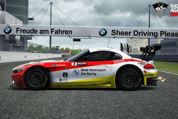 BMW Group Indonesiameresmikan kerja sama dengan penyelenggara kejuaraan balap simulator yang telah mendapat pengakuan Komisi E-Motorsport dari Ikatan Motor Indonesia dengan meluncurkan BMW Z4 GT3 sebagai Official Car dari kompetisi ?Balap di Rumah?.
