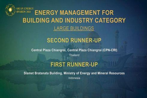 Terapkan Manajemen Energi, Dua Gedung Kementerian ESDM Raih Penghargaan ASEAN Energy Awards 2021