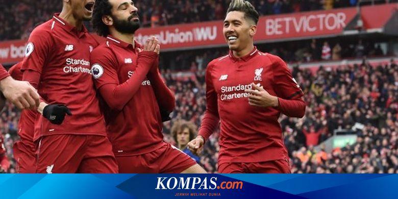 Jadwal Siaran Liga Inggris Malam Ini Liverpool Dan Man United Main Halaman All Kompas Com