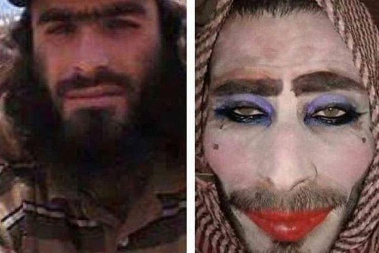 Seorang anggota ISIS menyamar menjadi perempuan bercadar tetapi dia tak mencukur kumisnya sehingga akhirnya tertangkap pasukan Irak.